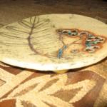 Talerz z gliny szamotowej